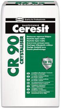 Ceresit  CR 90 crystaliser. Кристаллизирующееся гидроизоляционное покрытие