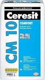 Ceresit СМ 10 Клей для плитки «Comfort»