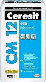 Ceresit CM 12 Клей для плитки «Gres»