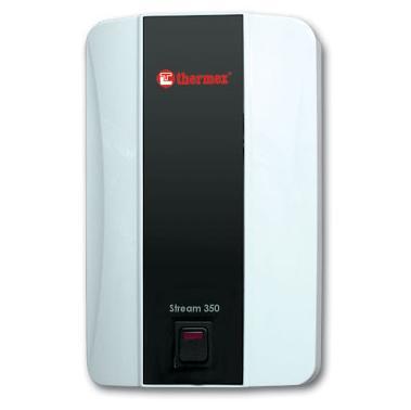 Электрический водонагреватель проточный Thermex Stream 500 White (кухня-душ).